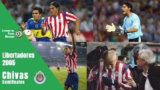 El día que le escupieron al BOFO  BAUTISTA por golear a BOCA JUNIORS 4-0 (Libertadores 2005)
