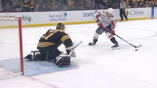 Caps and Bruins battle in highlight-filled shootout