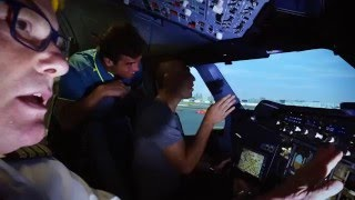Jaziri, Baghdatis at the Emirates Aviation College