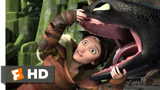 How to Train Your Dragon 2 - The Land of Dragons Scene | Fandango Family