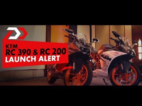 Launch Alert: KTM RC 390 & RC 200 : PowerDrift