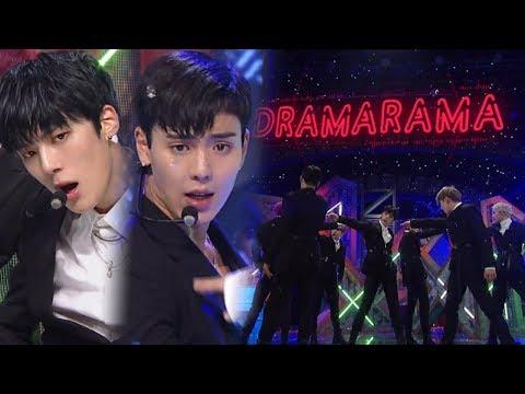 《Comeback Special》 MONSTA X(몬스타엑스) - DRAMARAMA(드라마라마) @인기가요 Inkigayo 20171112