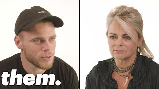 Olympic Skier Gus Kenworthy Talks to His Mom About Coming Out of the Closet | them.