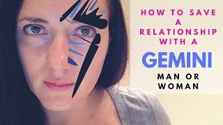 How to Save a Relationship with a Gemini Man or Woman
