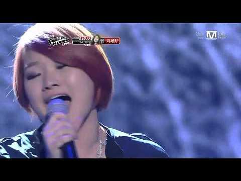 보이스코리아 시즌1 - [보이스코리아_손승연-물들어]SonSeungYeon_Mooldeuluh(BMK)@Voice Korea_ep10