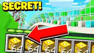 HOW TO GET UNLIMITED LUCKY BLOCKS in MINECRAFT! *SECRET*