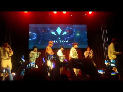 VICTON (빅톤) IN MOSCOW (11092018) - 아무렇지 않은 헉 (I'm Fine) + The Chemistry