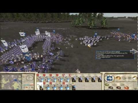 Rome Total War Online Battle #2081: Big Money FFA (25k denarii)