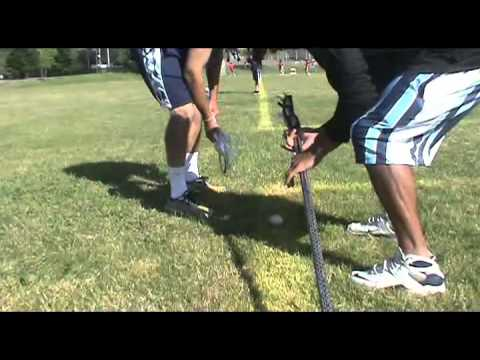 All West Lacrosse Tutorials - Duke's CJ Costible on Facing Off
