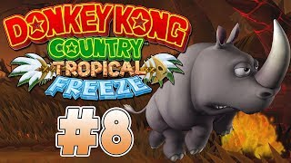 RAMBI POR LOS AIRES | PARTE #8 | DONKEY KONG COUNTRY: TROPICAL FREEZE (SWITCH)
