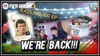 ~Back with a Bang!!~ Nov Diamond Package 2018 Opening - FIFA ONLINE 3 - YouTube