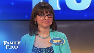 This animal gives a sloppy kiss!   Family Feud