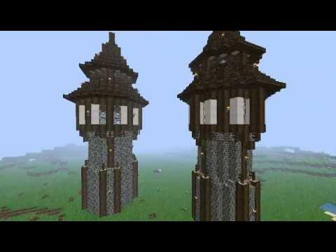 Minecraft Eingangstor