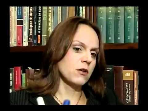 Entrevista de Deirdre de Aquino Neiva à TV Justiça - Janeiro de 2010