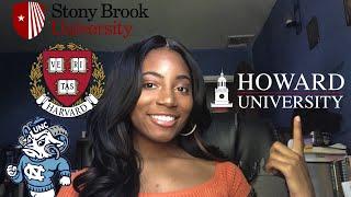 WHY I CHOSE HOWARD UNIVERSITY | Choosing an HBCU over a PWI |#HU22 | 2018