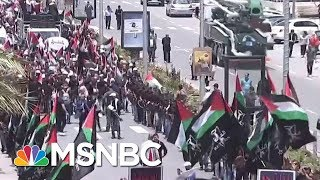 Protests Erupt As The US Opens Its Embassy In Jerusalem   Velshi & Ruhle   MSNBC
