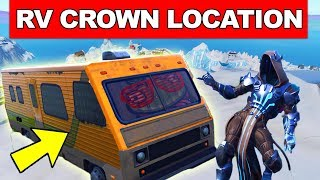 Dance on Top of a Crown of RV's - LOCATION WEEK 1 CHALLENGES FORTNITE SEASON 7