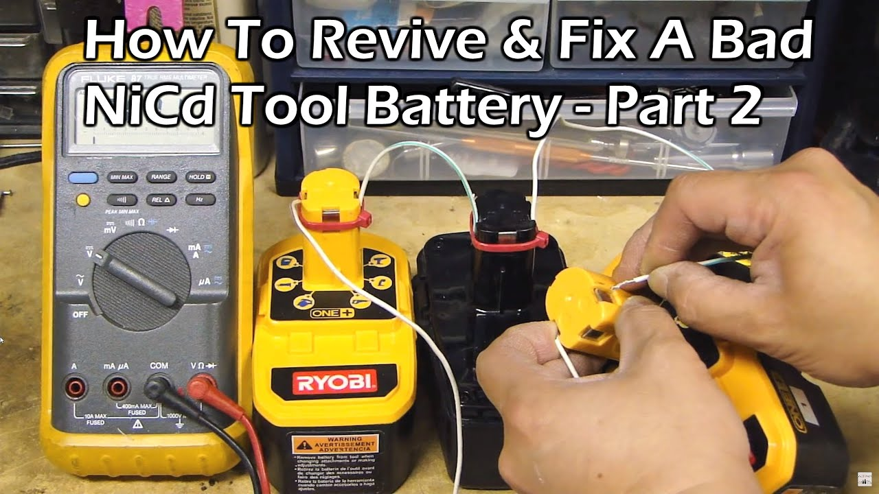 Pictures of Nicd Battery Repair Youtube