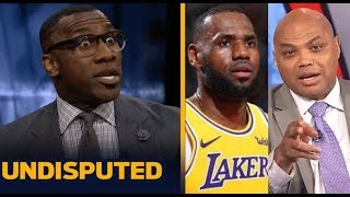 Shannon Strong react to Charles Barkley says Kawhi is better player than LeBron in every way