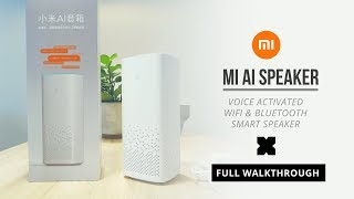Xiaomi Xiao Ai - Ai Speaker - WiFi Bluetooth Smart Speaker - Full Walkthrough (English)