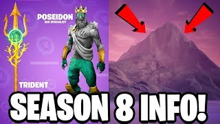 FORTNITE SEASON 8 HUGE CHANGES ARE HERE! NEW FORTNITE MAP! VOLCANO & WATER BIOME!