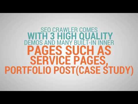 SEO Crawler - Digital Marketing Agency, Social Media, SEO WordPress Theme