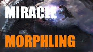 Miracle [Morphling] IMPOSSIBLE | 14-8 K-D | Dota 2 Pro Gameplay!
