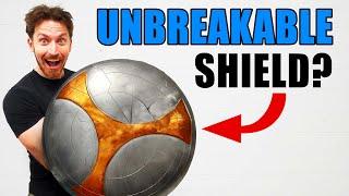 BLACK WIDOW'S Taskmaster Shield Build! (Is it bullet proof?)