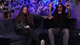 Very funny: Head and Munky play 'How well do you know your band mate' | A&Q from Facebook