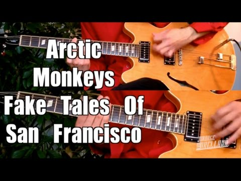 Fake Tales Of San Francisco - Arctic Monkeys  ( Guitar Tab Tutorial & Cover )