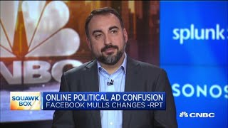 Former Facebook security chief: Limiting the power of political ads will hurt Democrats in 2020