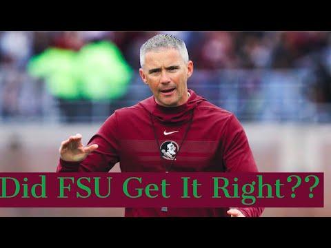 Did FSU Get It Right??