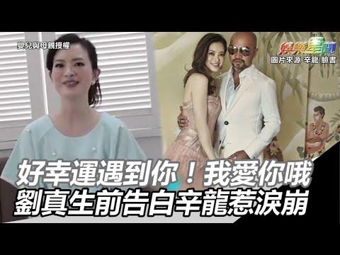 「好幸運遇到你!我愛你哦」 劉真生前告白辛龍惹淚崩|三立新聞網SETN.com