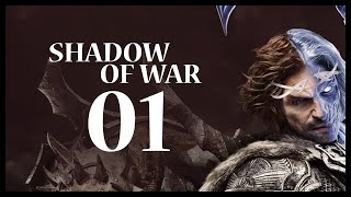 Middle-earth: Shadow of War Gameplay Walkthrough Let's Play Part 1 (A SENSE OF DUTY)