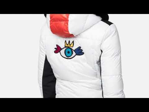 Rossignol JCC Yakima Bomber BG Womens Jacket in White