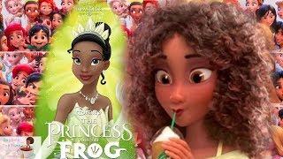 Disney CAUGHT LYING about why the BLACK Princess TIANA no longer has DARK SKIN in new Disney movie!