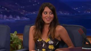 Aubrey Plaza - Best Moments In Talk Shows