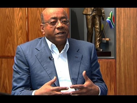 Interview with Mo Ibrahim (Part one) - YouTube