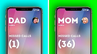 MOM VS. DAD || Funny Relatable Facts About Parents And Relatives by 5-Minute Crafts LIKE