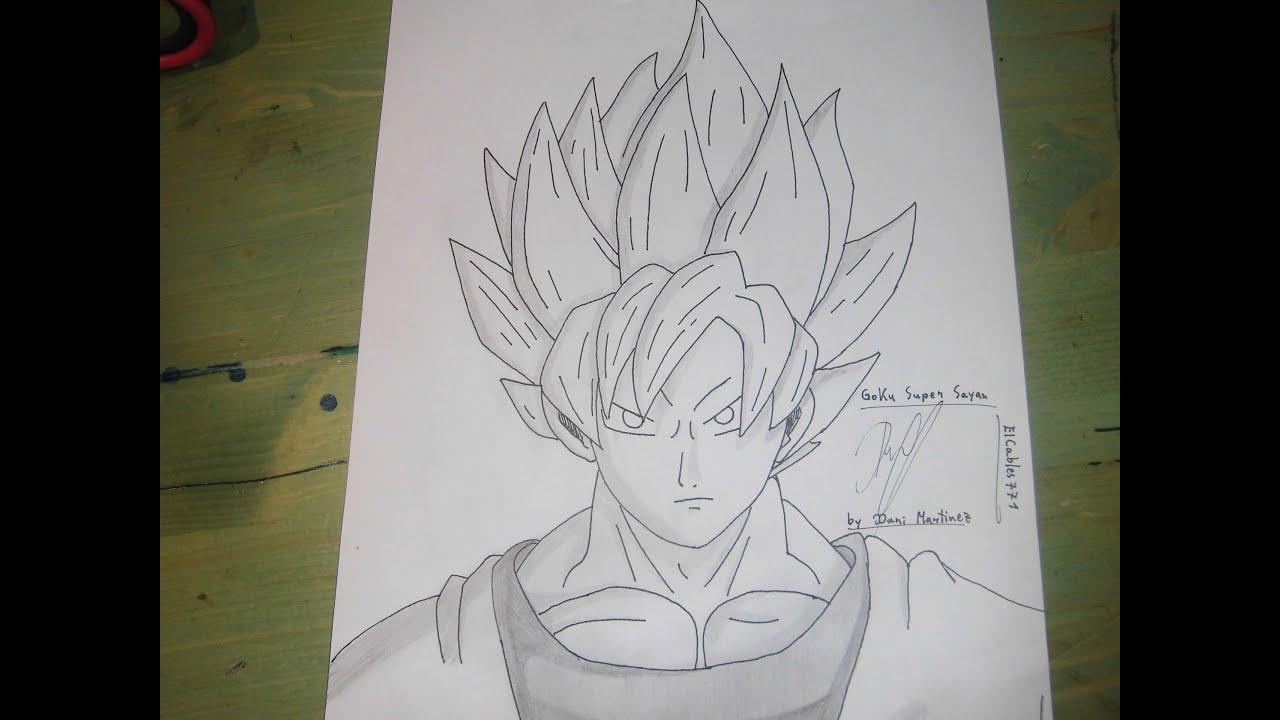 Como Dibujar A Goku Super Sayayin: Como Dibujar A Goku Super Sayan.