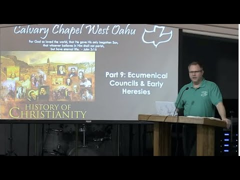 10 June 2020 CCWO's Midweek Study on 'The Council Of Nicaea' with Pastor Dan Jacobson