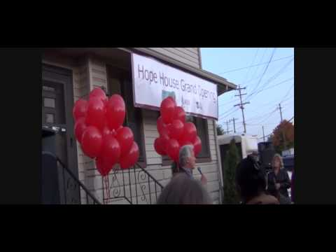 City Mission Hope House Grand Opening Ceremony