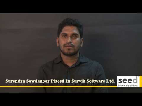 SAP ERP Training Course Success Story of Surendra Sowdanoor