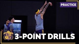 Lakers 3-Point Shooting: Lonzo Ball, Kyle Kuzma, Tyler Ennis