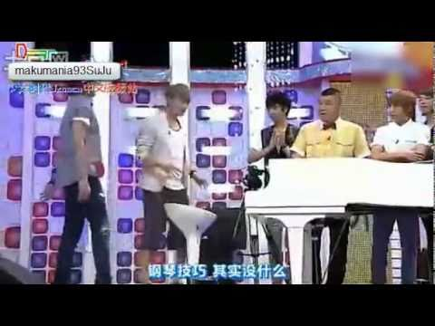 SuJu - Eunhyuk & Eeteuk Playing Piano - In Edit - Funny Cut
