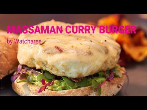 How to Make a Massaman Curry Turkey Burger