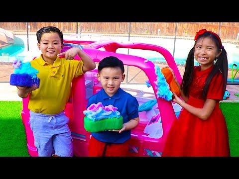 Car Wash Song | Wendy Pretend Play This Is the Way Nursery Rhymes & Kids Songs