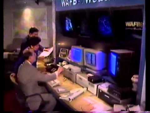 Wafb Weather Promo 1992 Weather Authority Youtube