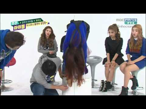 150211 Weekly Idol - 4Minute Flexibility cut