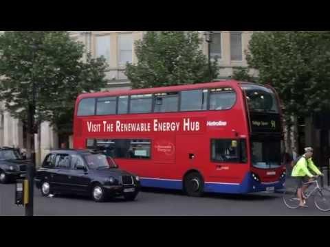Ja pridám čokoľvek na londýnsky autobus na toto video - reklama, logo